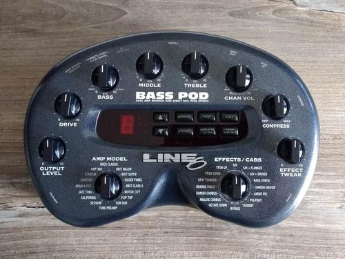 pedaleira line 6 bass pod