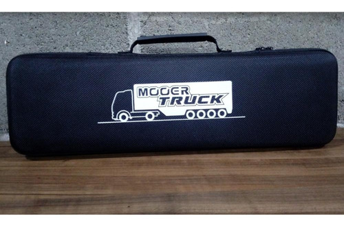 pedaleira multiefeito guitarra mooer black truck analógico.