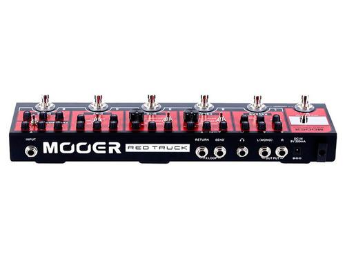 pedaleira para guitarra mooer red truck cpt1 pedal efeitos