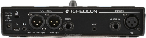 pedaleira vocal tc helicon voicelive play acoustic *