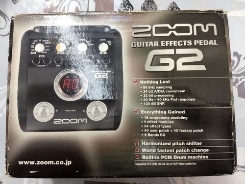 pedaleira zoom g2