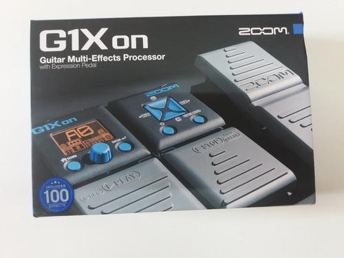 pedaleira zoon g1xon multiefeito para gutarra zoon c/ fonte