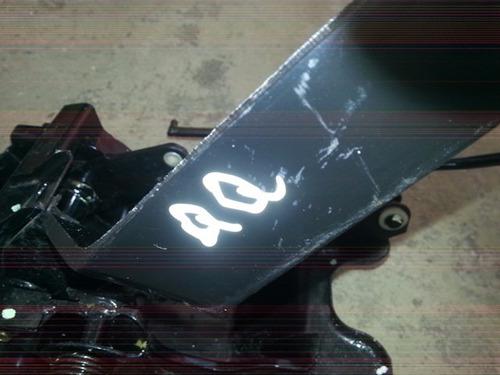 pedaleiras chery qq freio + embleagem + acelerador
