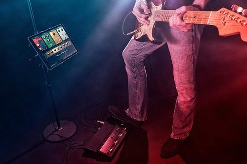 pedalera de guitarra ik multimedia irig stomp i/o usb