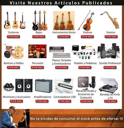 pedalera de guitarra vox stomplab 2g - 104fx !! - en palermo
