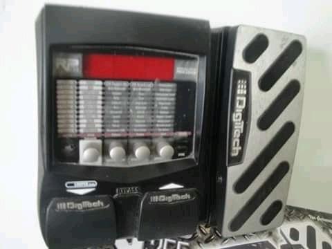 pedalera digitech rp 255 guitarra eléctrica