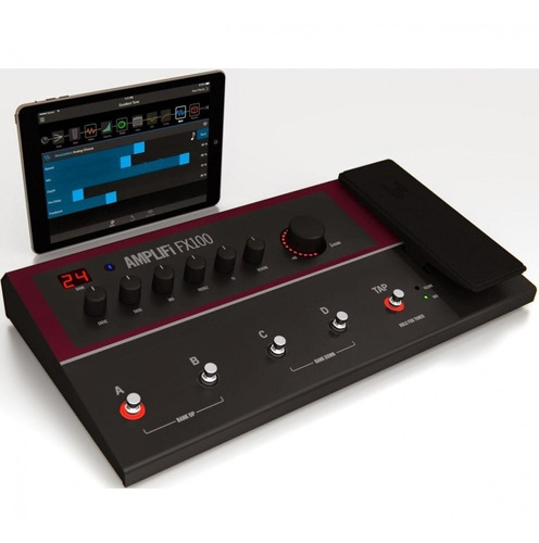 pedalera line 6 8 efectos amplifi fx100