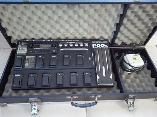 Pedalera Line 6 Xt Live Con Patches De Guitarra Y Bajo