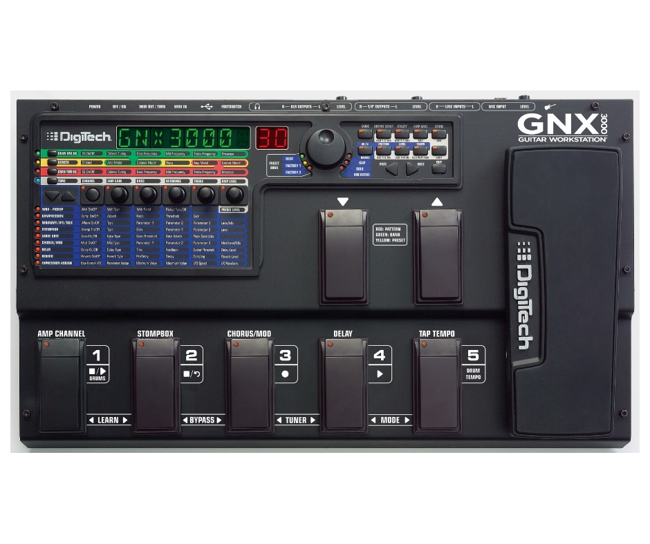DIGITECH GNX3000 TREIBER WINDOWS XP