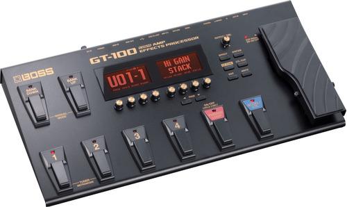pedalera multiefecto boss gt100 guitarra gt-100 pedal