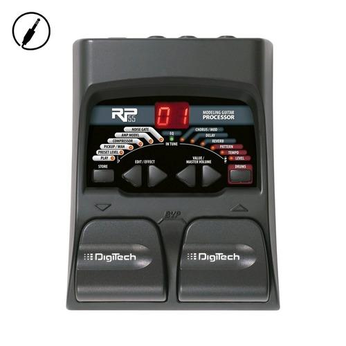 pedalera multiefecto digitech rp55 para guitarra 80 efectos