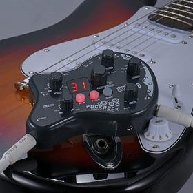Pedalera Multiefectos Guitarra Ammon Pockrock. Envio Gratis