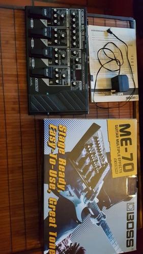 pedalera multiefectos guitarra boss me-70