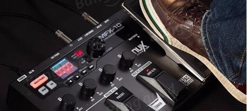 pedalera multiefectos nux mfx-10