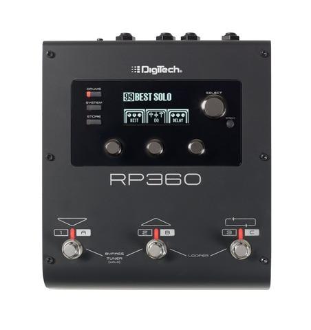 pedalera procesador de efectos digitech modelo rp 360 incluy