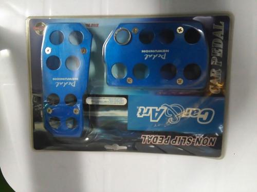 pedaleras sincronicas y automaticas metalizadas tuning