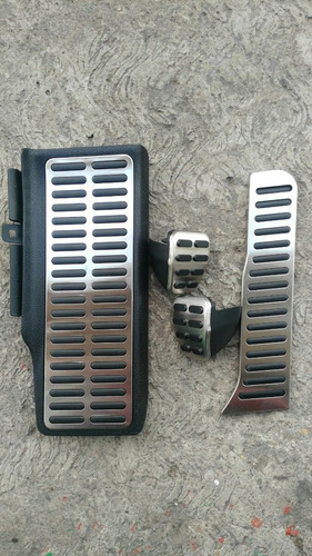 pedales aluminio jetta a6 mk6 bicentenario gli