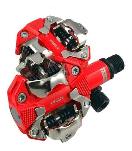 pedales automáticos mtb look x-track incluye calas  - racer