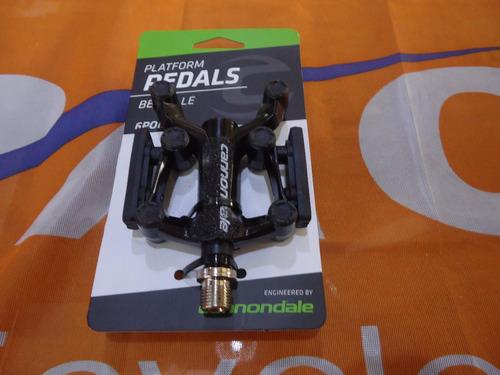 pedales bicicleta cannondale aluminio rulemanes 6.3 - racer bikes