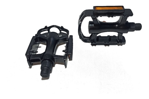 pedales bicicleta mtb aluminio refractario rosca 9/16 - wake up