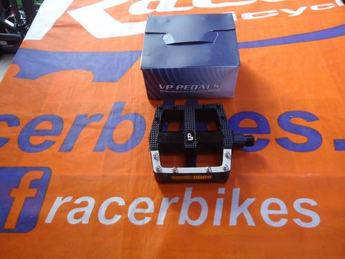 pedales bicicleta vp 569 plataforma aluminio - racer bikes