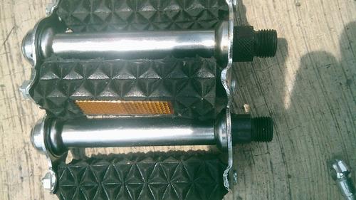 pedales de goma para bicicleta antigua standar