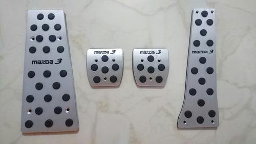 pedales decorativos mazda 3 2014-2017 estandar