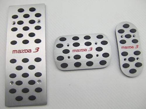pedales deportivos mazda 3  versiones 2005 - 2014