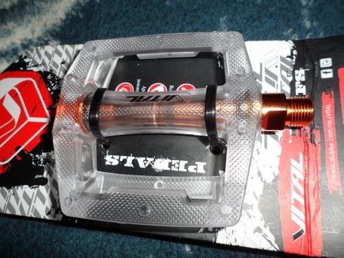 pedales marca vital especiales para placticar bmx