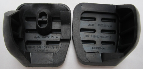 pedales originales con posapie vw jetta a4 clasico mk4 std