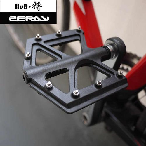 pedales plataforma carbono p/ bici bmx zeray zp-d213