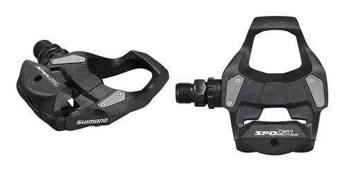 pedales ruta shimano rs500 spd c/ calas - ciclos