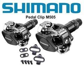 pedales shimano de montaña automaticos m505 para trabas