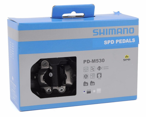 pedales shimano slx pd- m530 spd trail