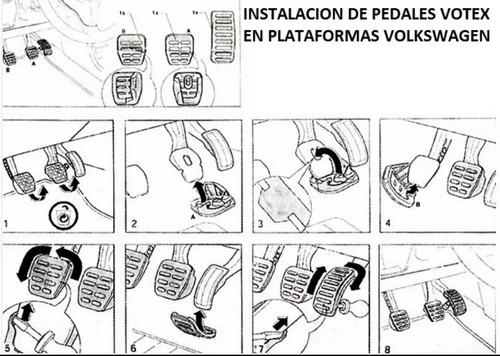 pedales votex jetta ibiza seat clasico envio gratis 2