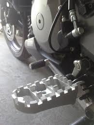 pedalines suzuki v-strom dl 1000 kraftec motoscba