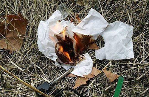 pederneira de magnésio fogo pesca sobrevivência camping