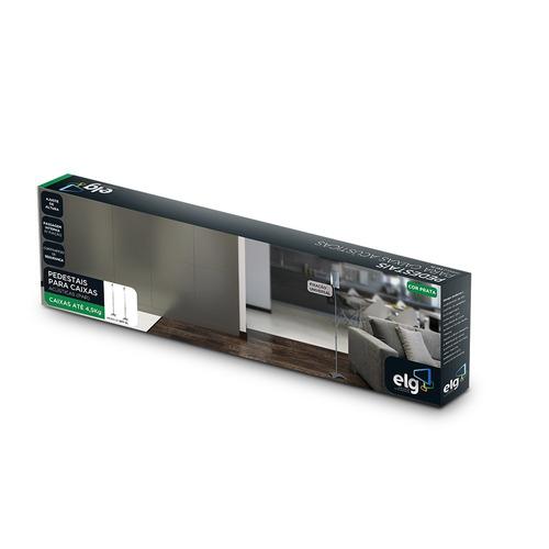 pedestais para caixas acústicas (par) com regulagem sr11 elg