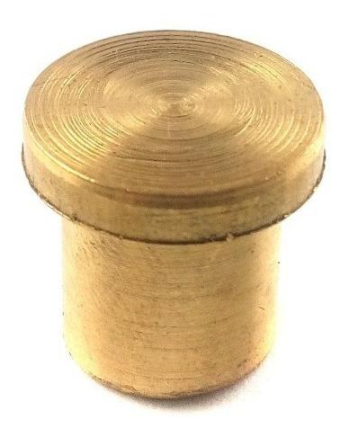 pedestal base chica de bronce para la matriz sacabocado