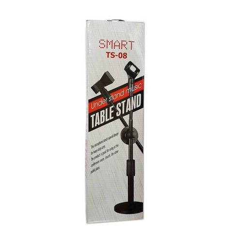 pedestal de mesa para microfone modelo smart ts 08