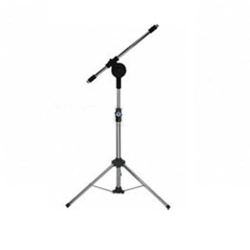 pedestal de microfone pe3m mini - visão  ofereta santec