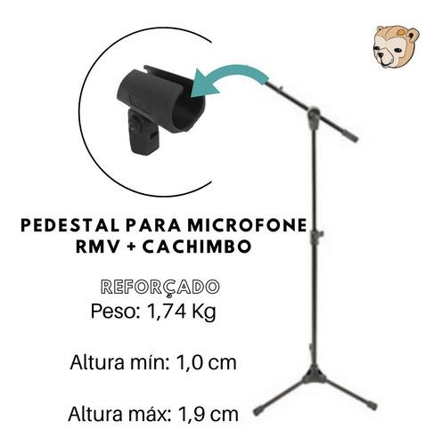 pedestal de microfone rmv reforçado