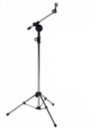 pedestal girafa para prato de bateria vppbg cromado - visão