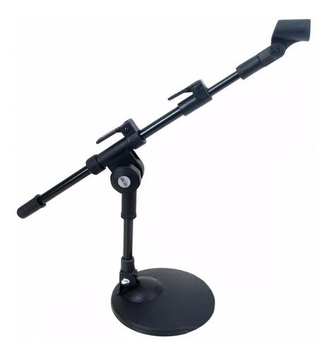 pedestal microfone de mesa vector sm-20 mini girafa