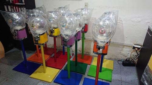 pedestal para máquina dispensadora de chicles o chiclera