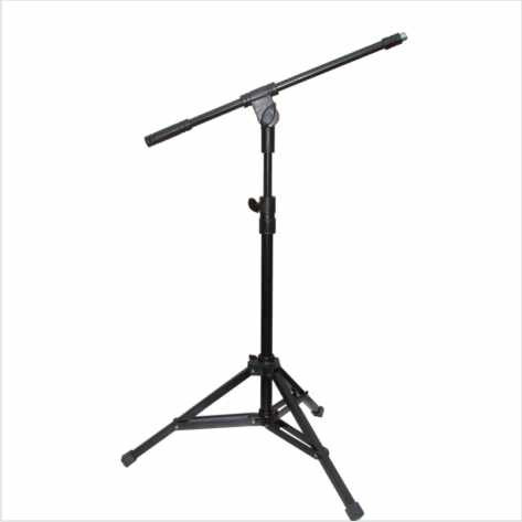pedestal para microfone mini girafa  hpm54 torelli  02 peças
