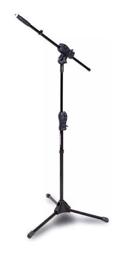 pedestal suporte microfone ibox smmax robusto + cachimbo