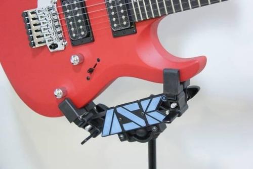 pedestal violão guitarra ask egv segura pelo corpo chão