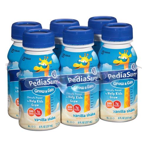 pediasure vanilla shake 237ml, 24 botellas