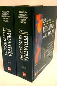 pediatria  de rudolph   21  edicion    2 tomos´